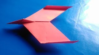 How to make a easy paper airplane  New design paper plane
