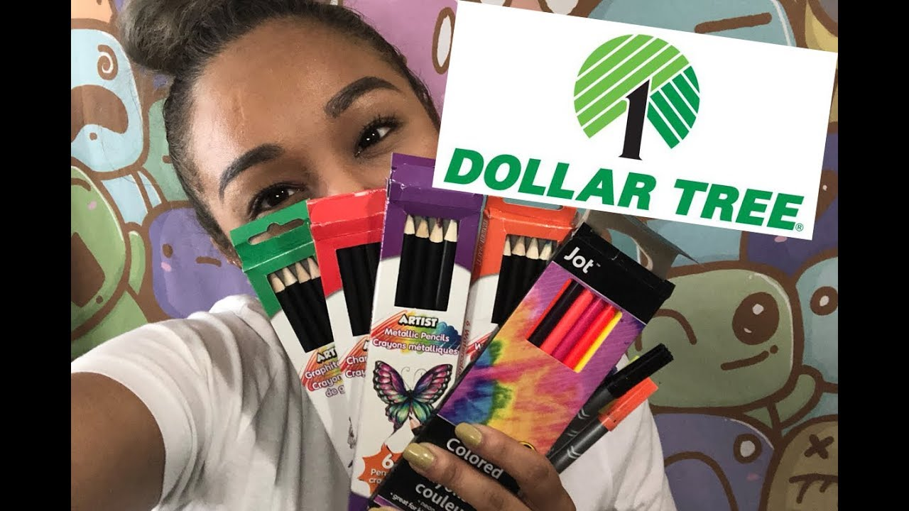 Dollar Tree Art Supplies Haul And Review