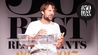 René Redzepi launches wild food initiative at #50BestTalks