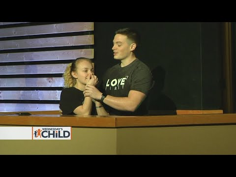 Former Wednesday's Child adopted and baptized