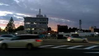 [バス]秋田駅西口→西部サービスセンター 新屋西線