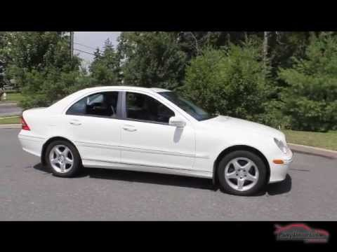 2002 mercedes benz c320 white 65k miles youtube. Black Bedroom Furniture Sets. Home Design Ideas
