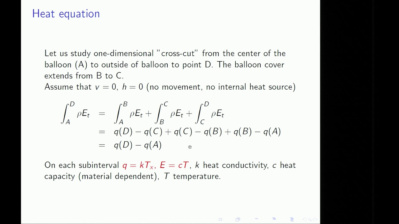 Mathematical Modelling - Continuum Models - Examples and Material Laws  (part 4/5)