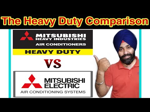 Mitsubishi Electric Vs Mitsubishi Heavy Industries Air Conditioners | Mitsubishi AC 2020 | Emm Vlogs