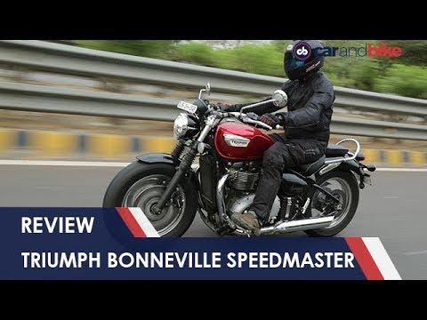 Triumph Bonneville Speedmaster Review | NDTV Carandbike