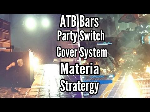 New Final Fantasy VII remake combat pics: ATB &