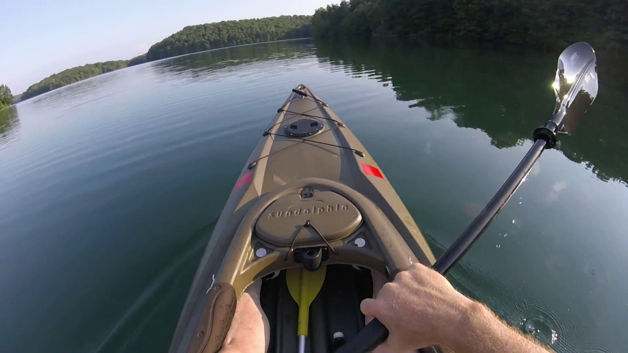 Sundolphin Excursion 12 Ss Sit Inside Fishing Kayak Review Youtube