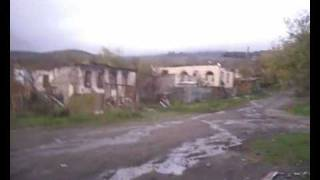 Total Destruction of Georgian Village of Eredvi in South Ossetia by Ossetian Fascists