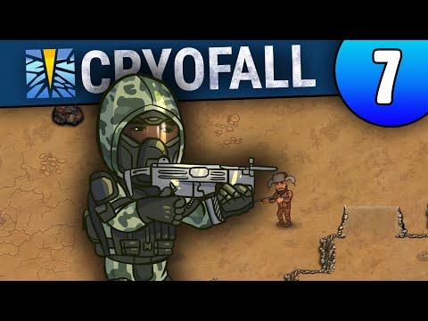 Прогулка по карте и Лазерное оружие - CryoFall: Mechanized Update