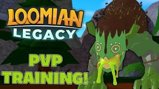 PVP TRAINING NEW LOOMIANS! - Loomian Legacy