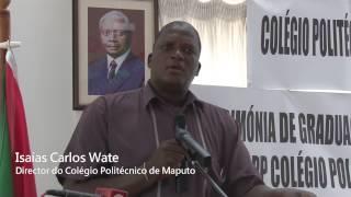 Graduação dos Estudantes do Colégio Politécnico da ADPP Moçambique em Maputo - 2014