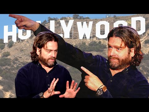 Zach Galifianakis (VERY HONEST) feelings about Hollywood and celebrity culture