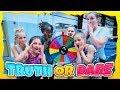 Truth Or Dare Mystery Wheel Gymnastics Challenge| Rachel Marie