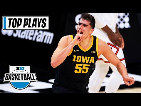 50 of the Top Plays by Iowa C Luka Garza | Big Ten in the 2021 NBA Draft