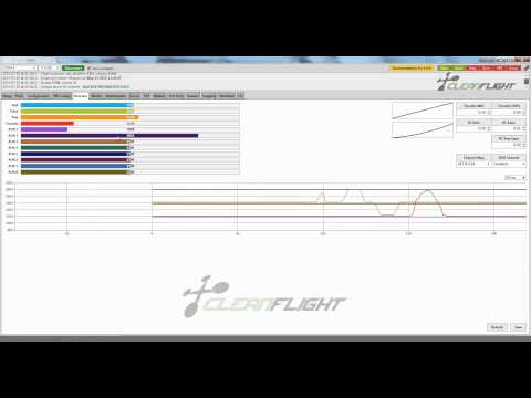 NAZE32 Cleanflight Config