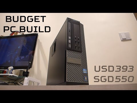 Budget Small Form Factor 1080P Gaming PC 2017 Feat. optiplex 790 SFF