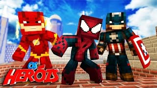 Minecraft: NOVA AVENTURA !!! - HEROIS !!