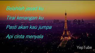 Asfan Shah - Sumpah Cintaku Lirik Video (OST Titian Cinta)