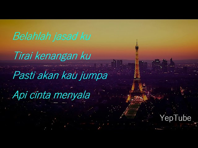 Asfan Shah - Sumpah Cintaku Lirik Video