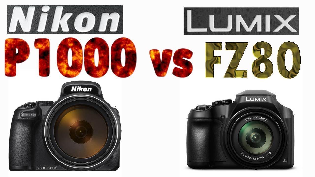 dc26215c13 Nikon P1000 vs Panasonic FZ80 4K Super Zoom Bridge Camera Comparison ...