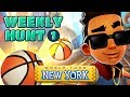 🏀 Collecting Basketballs in New York - Subway Surfers Weekly Hunt (Week 1)