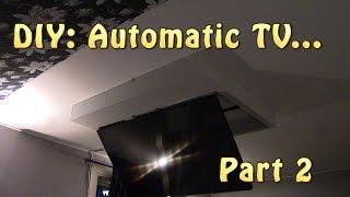 DIY: TV Mount ceiling Part 2