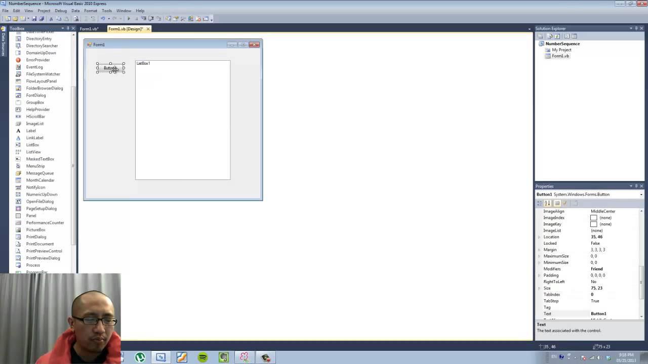 Visual Basic Programming Lesson 8