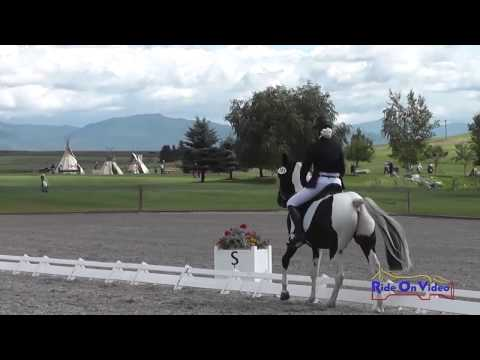 385D Lily Seymour on Phoenix Rising N3D Dressage The Event at Rebecca Farm July 2014
