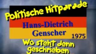 Politische Hitparade - Hans-Dietrich Genscher - Wo steht denn geschrieben...?