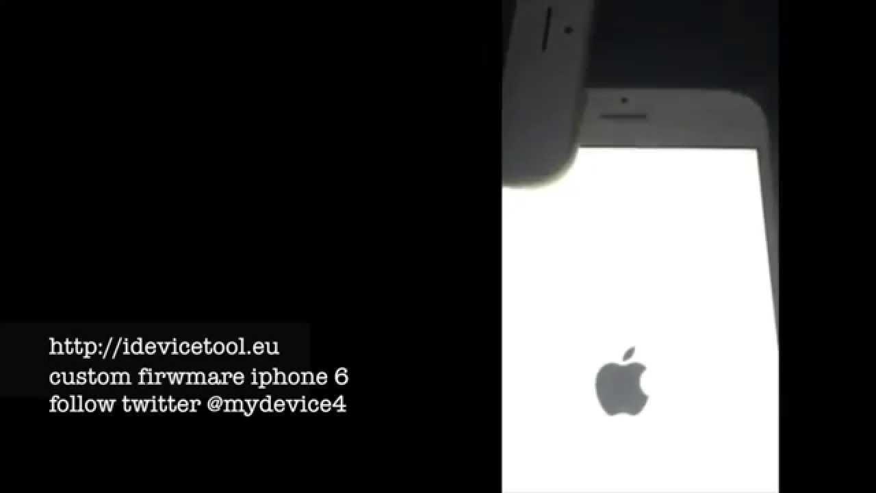remove icloud iphone 6 unlock with custom firmware