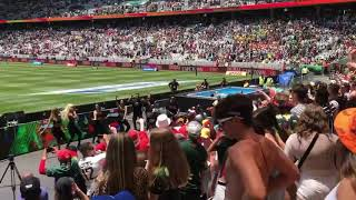 Biggy sings 'Dames' at Cape Town Sevens