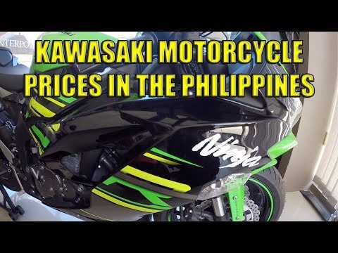 Kawasaki Motorcycle Prices In The Philippines Youtube