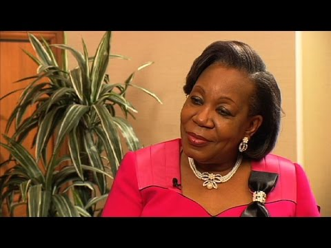 Interview de Catherine Samba Panza, la présidente de la transition centrafricaine