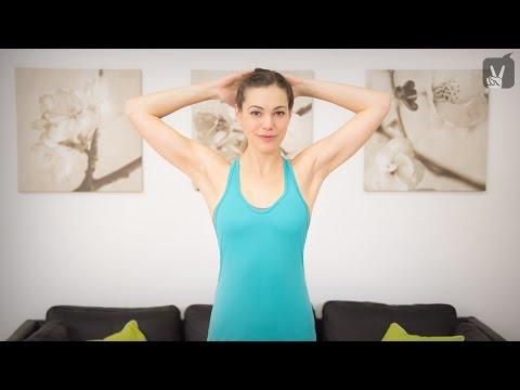 Pilates Workout für Schulter und Nacken: Hilfe bei Verspannungen!
