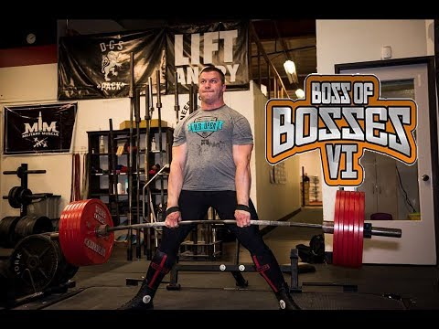 Yury Belkin (RUSSIA) - 1066kg @100kg ATWR + Wilks Boss Of Bosses VI
