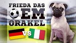 DEUTSCHLAND gegen ITALIEN » FUSSBALL ORAKEL FRIEDA » EM 2016 EURO 16 GER ITA Viertelfinale Ergebnis