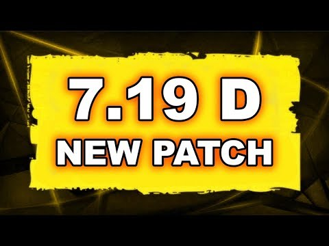 Dota 2 NEW 7.19D PATCH - Main Changes! thumbnail