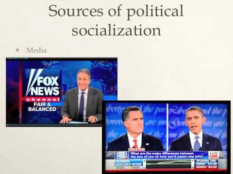 2.4 Political Socialization AP Gov