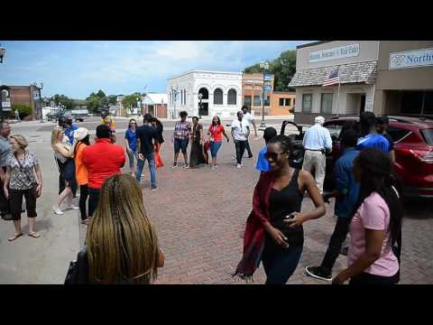African Leaders Dance on Manning's Main Street