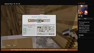 ChadWebster123's Live PS4 Minecraft Speedrun ep 3