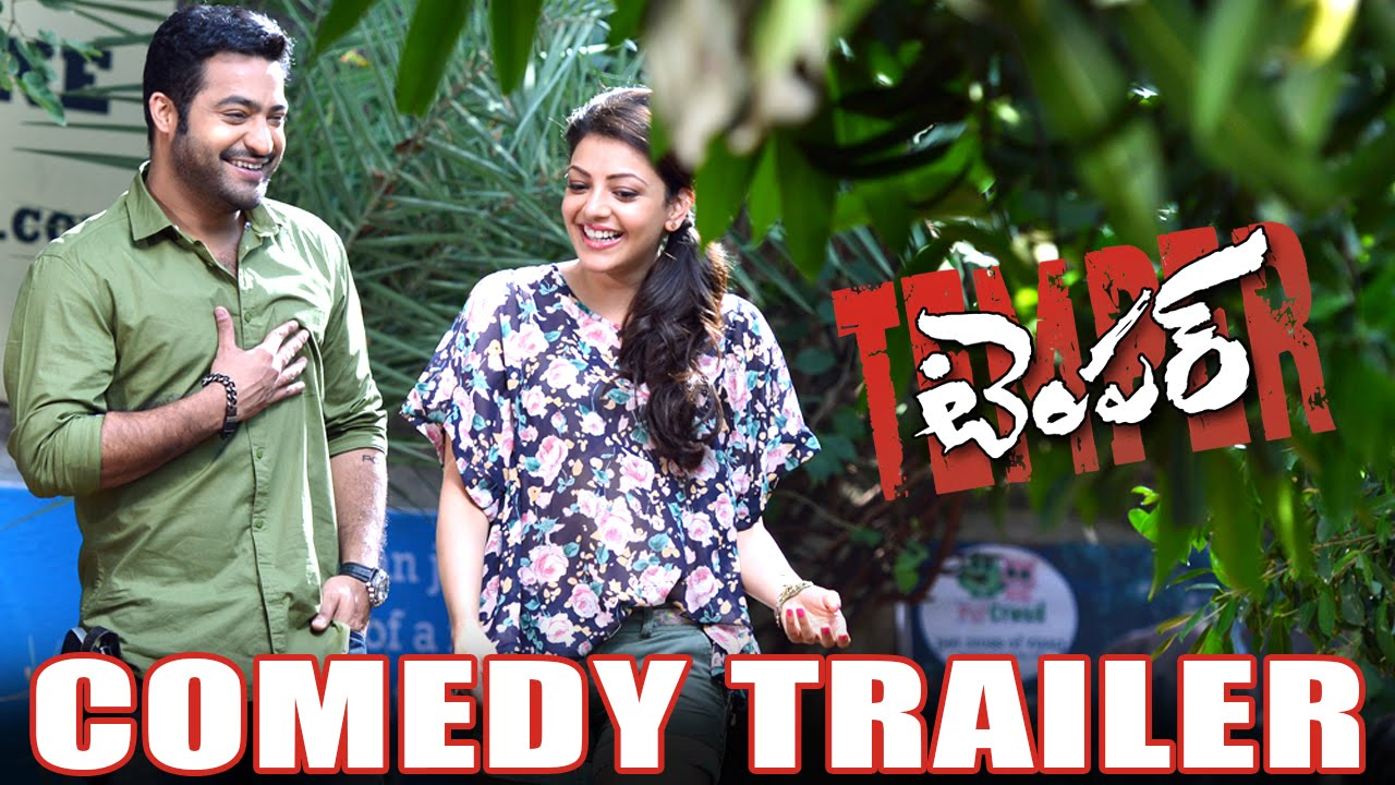 Temper Comedy Trailer Jr Ntr,Kajal Aggarwal,Puri Jagannadh ...