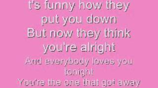 [On-Screen Lyrics] Tim McGraw - The One That Got Away