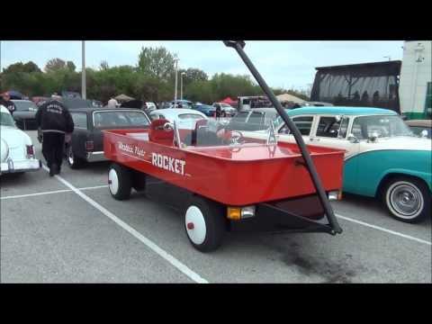 WESTERN FLYER WAGON CAR I SAW IN FLORIDA AT CAR SHOW  GM 4.3 V6 SORRY NO SOUND