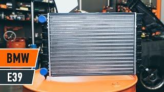 Kā nomainīt dzesēšanas radiatori BMW E39 Touring [AUTODOC VIDEOPAMĀCĪBA]