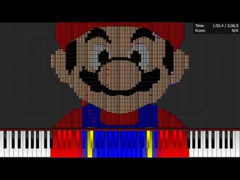 Dark MIDI - SUPER MARIO BROS THEME