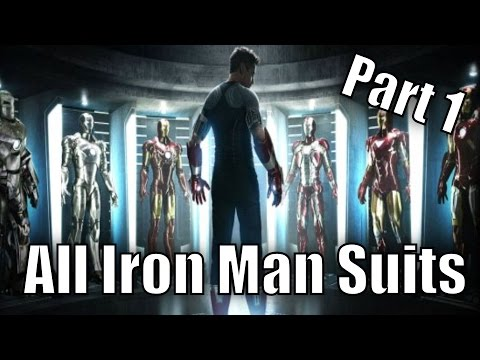 All Iron Man's Suits Part 1