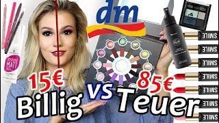 TEUER vs. GÜNSTIG - Welches Drogerie Make-Up ist besser?! 😱 I Cindy Jane