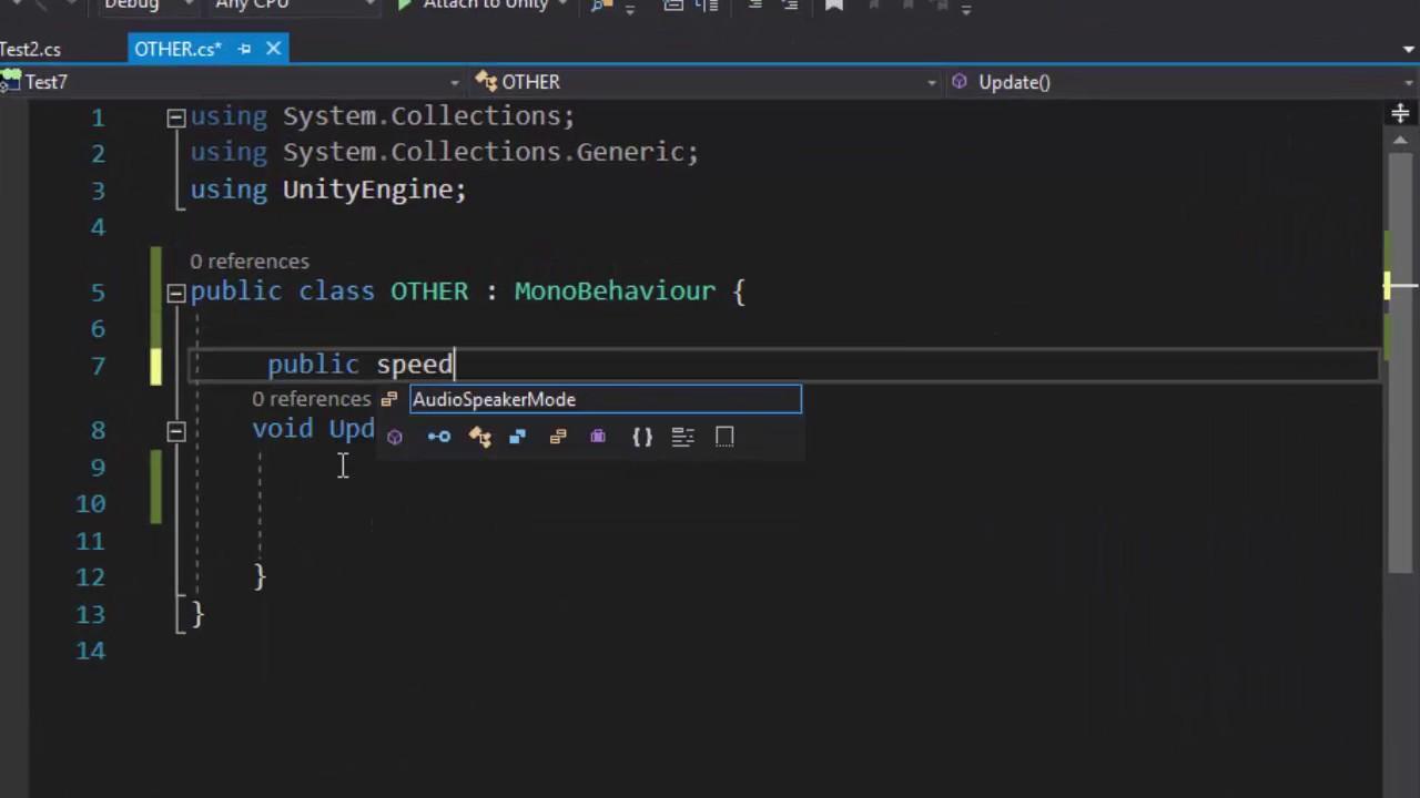 Unity3D Course  lesson 4 { programming c # }  arabic