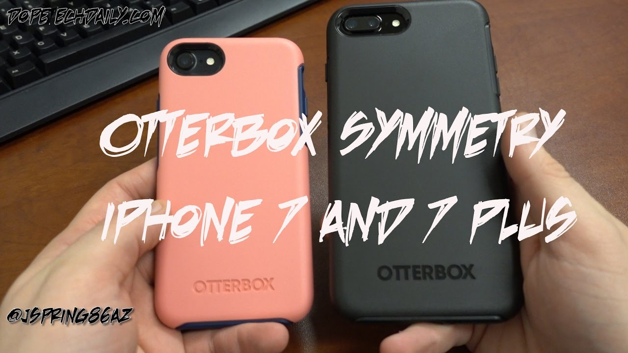 the best attitude 3c331 5d7ce Otterbox Symmetry Series for iPhone 7 and iPhone 7 Plus: Slim Drop  Protection