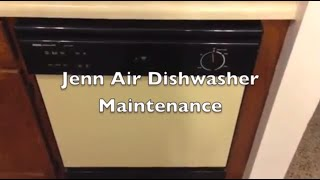 diy jenn air dishwasher maintenance cleaning and repair